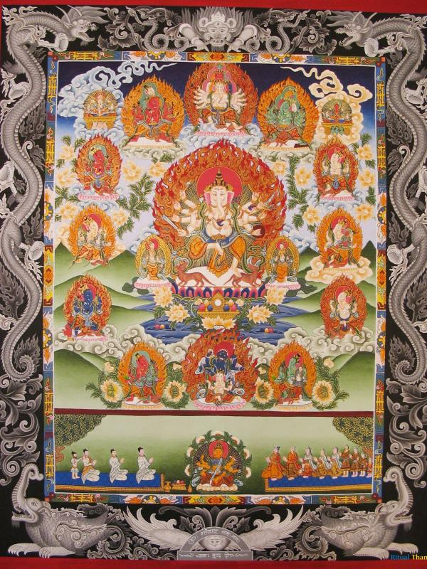 Ganesh's Multiple forms