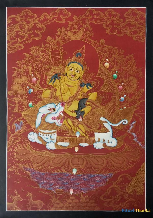 Namtose Buddha Thangka