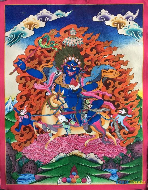 Palden Lhamo Thangka