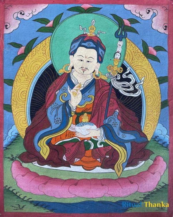 Guru Rinpoche/Guru Padmasambhava Thangka