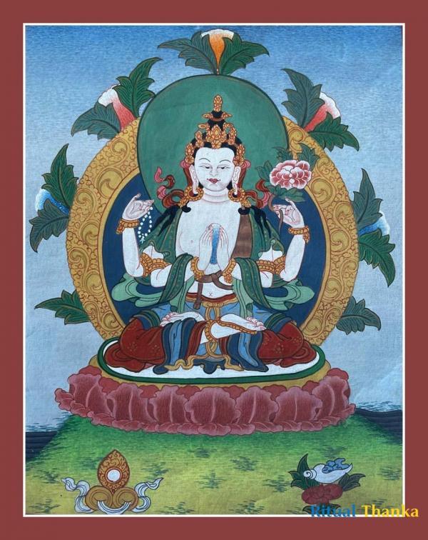 Chengrezig Thanka
