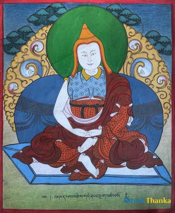 Manjushrimitra Thangka