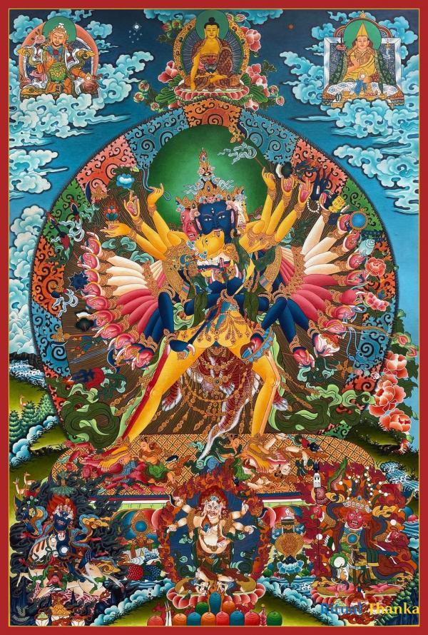 Kalachakra Deity Thangka