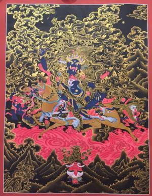 Dharmapala Palden Lhamo Thangka