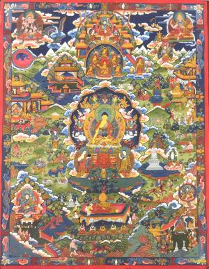 Siddhartha Gautama Buddha's biography depicted