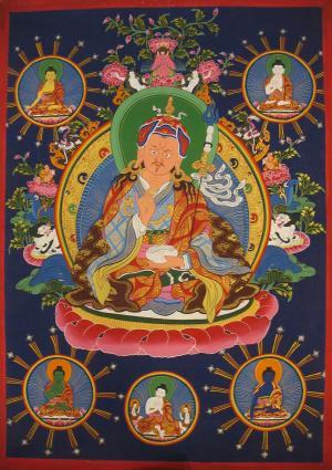 Guru Padmasambava the lotus born
