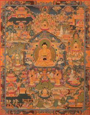 Siddhartha Gautama Buddha's  miraculous life events