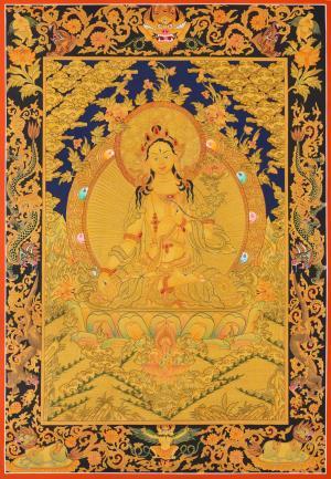 White Tara Thangka