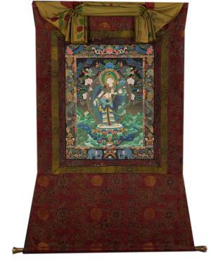 Very rare Vintage Bhodhisattva Padmapani Lokeshvara in Nevari Style