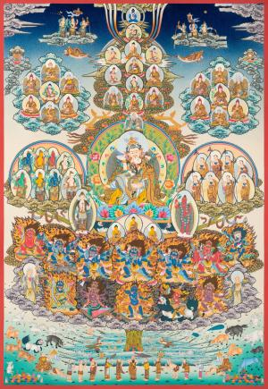 Guru Rinpoche Yabyum Lineage Tree