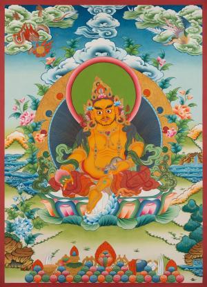 Dzambala Thangka