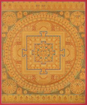 Buddha mandala Thangka