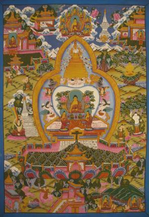 Buddha Stuppa also known as Chaitya